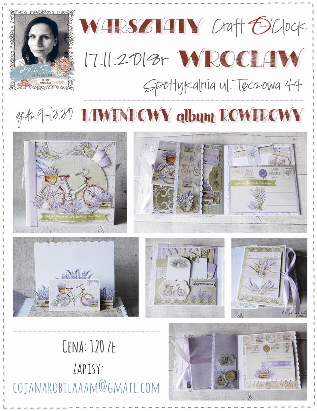 Album lawendowy Asia Ryba